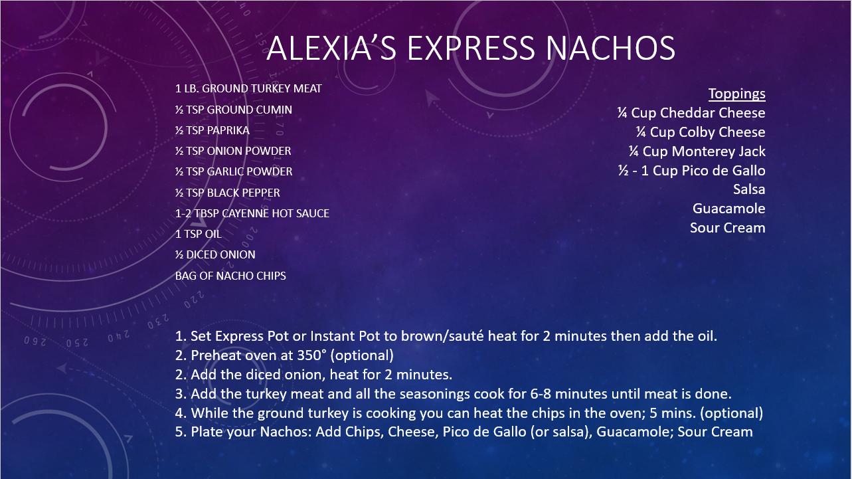Alexia's Express Nachos