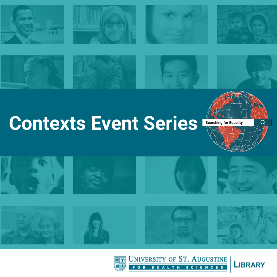 USAHS Library Presents Contexts Event Series to Support Diversity, Equity, and Inclusion in Research