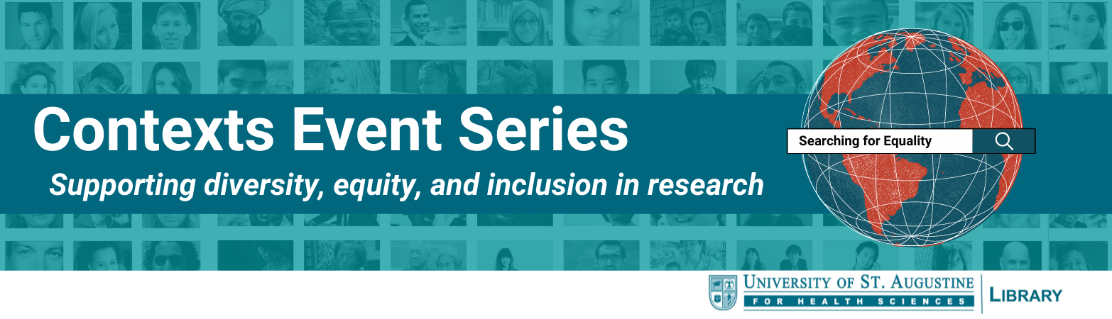 Contexts Event Series: Supporting diversity, equity, and inclusion in research