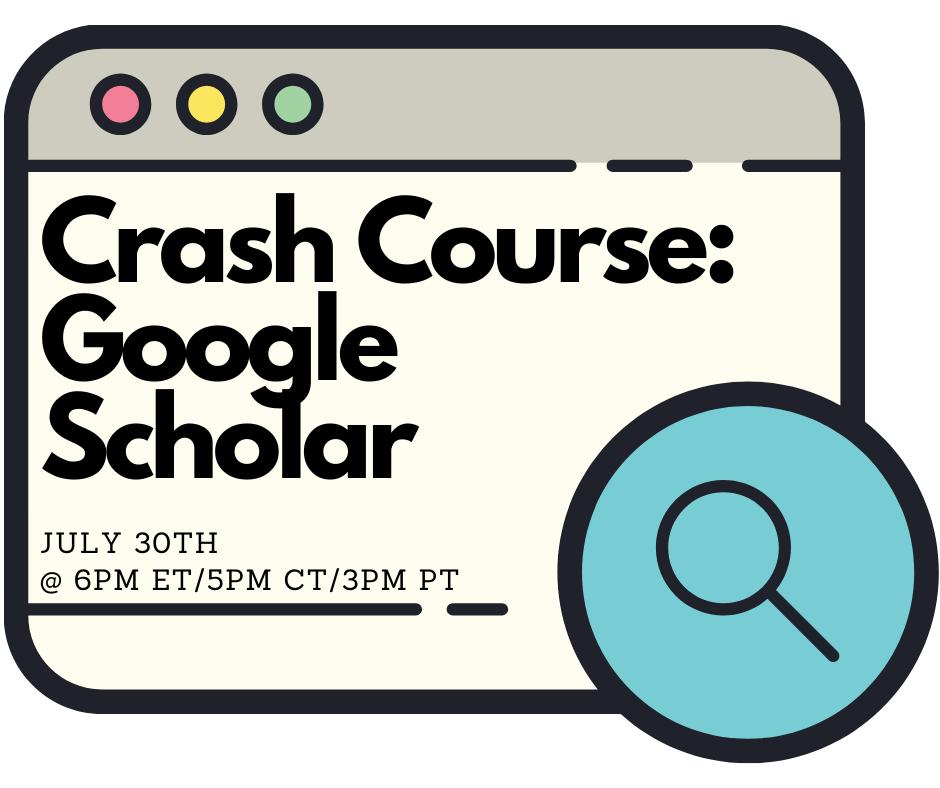 Crash Course: Google Scholar