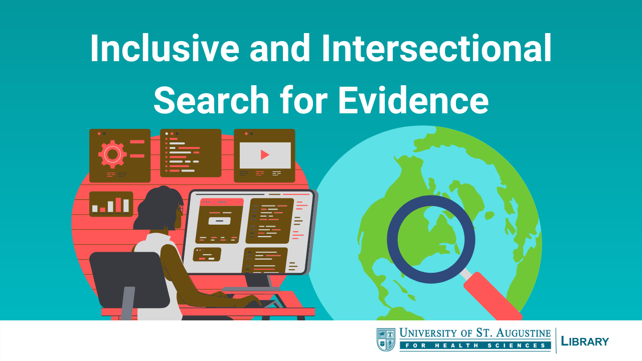 Inclusive and Intersectional Search for Evidence
