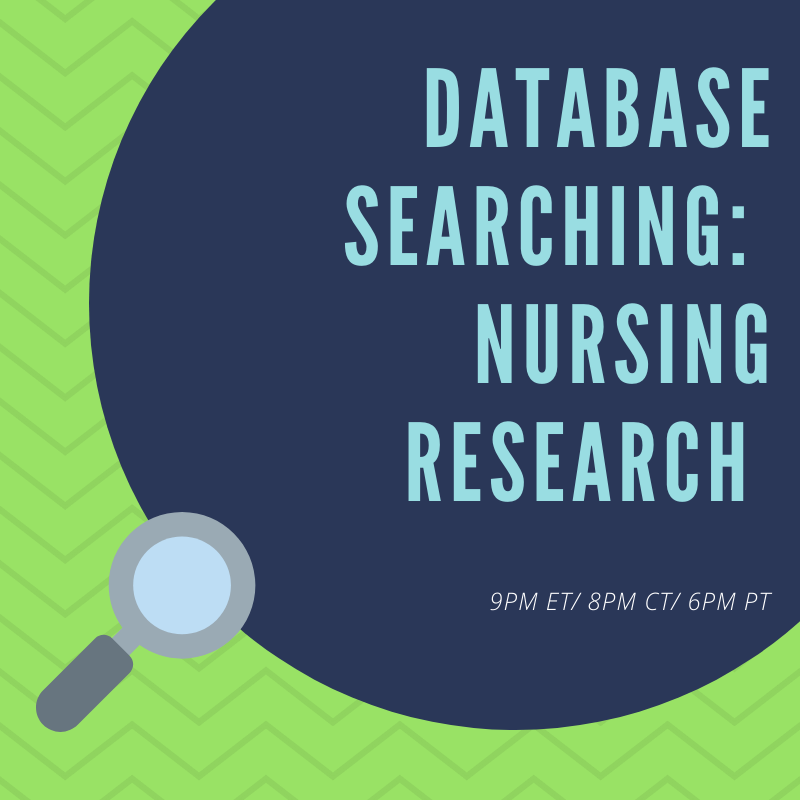 Literature Searching for Nurses