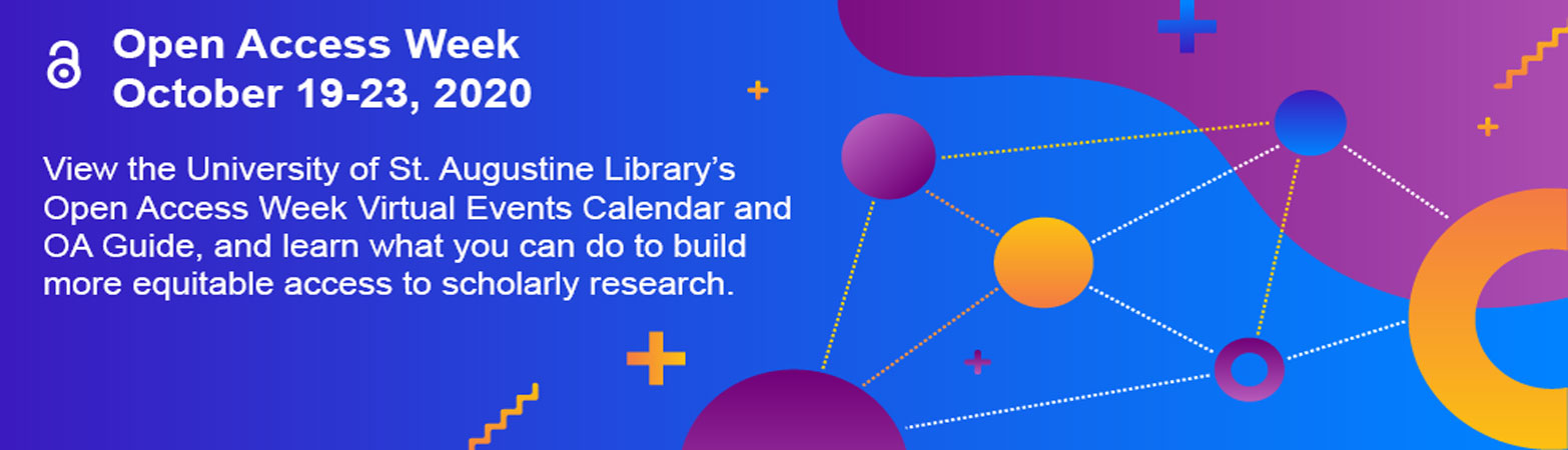View the library's open access week virtual calendar and OA guide to learn what you can do to build increased access to scholarly research