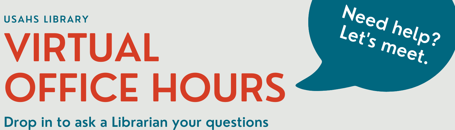 Virtual Office Hours. Need help? Let's meet. Click here to see our virtual office hours schedule