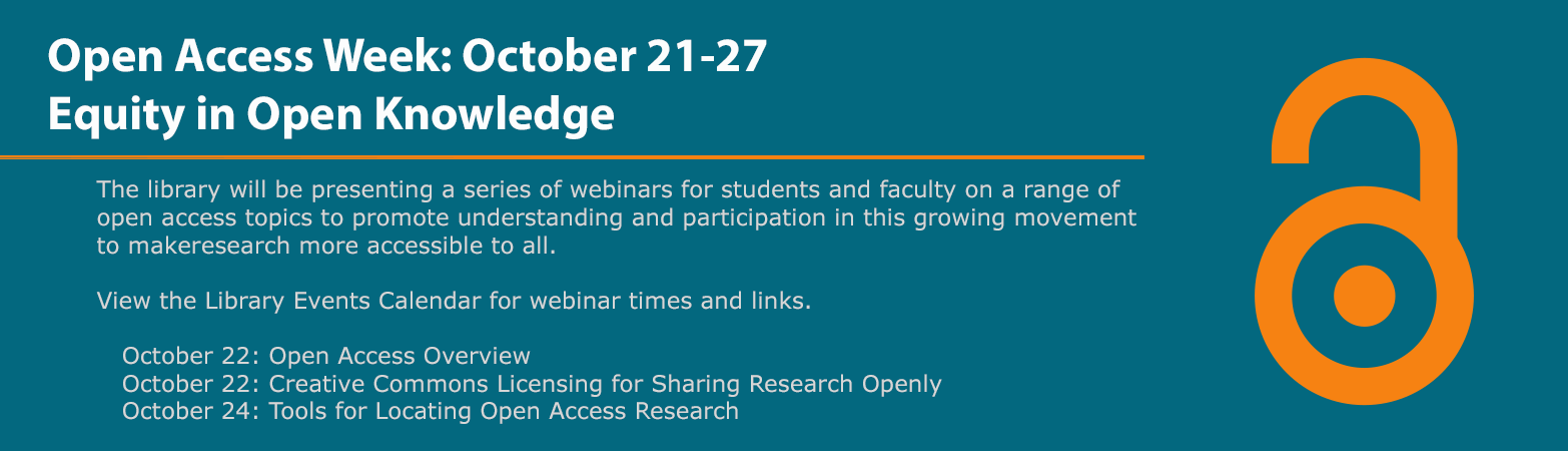 Open Access Week, October 21-27