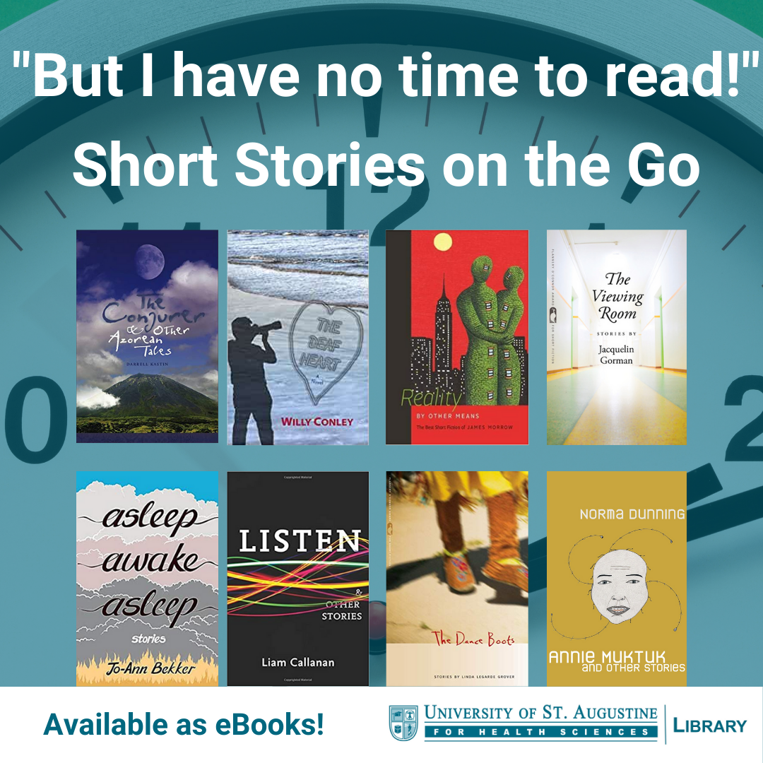 """But I have no time to read!"" Short stories on the go! Available as eBooks!"