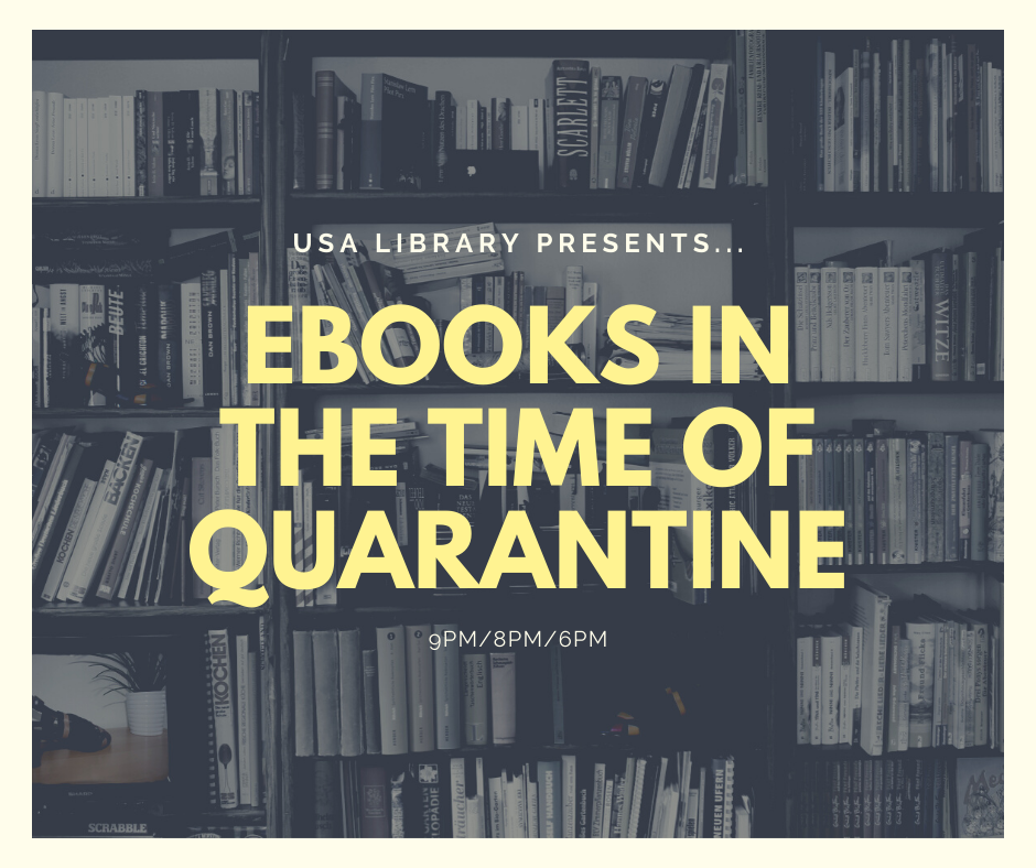 eBooks in the Time of Quarantine: USA Library