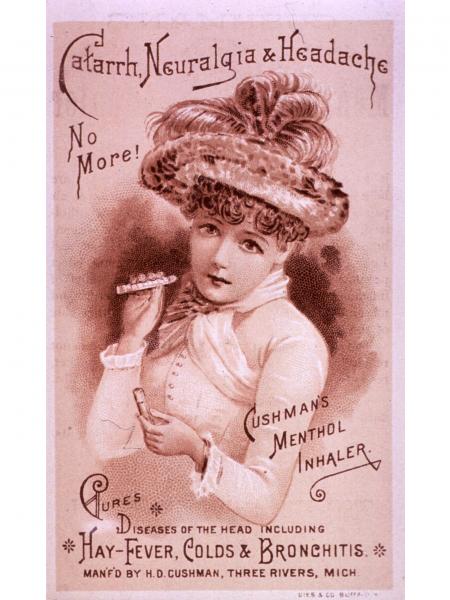 Cushman's-Menthol-Inhaler