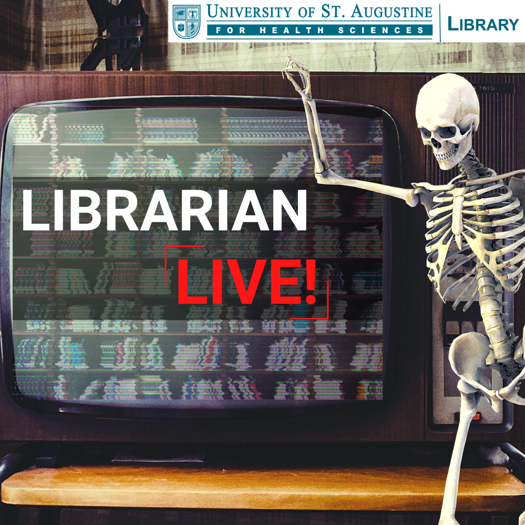 Librarian Live! Literature Search Edition