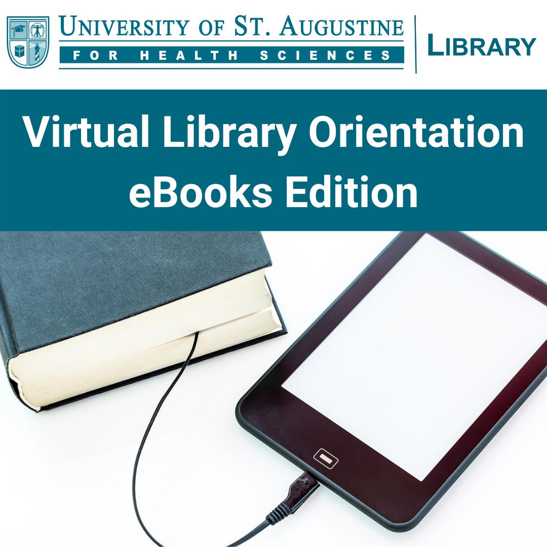 Virtual Library Orientation: eBooks Edition