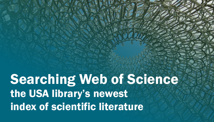 Searching Web of Science