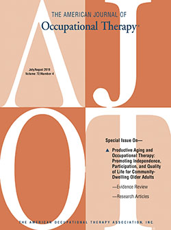 American-Journal-of-Occupational-Therapy