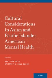 """Book cover of """"Cultural Considerations in Asian and Pacific Islander American Mental Health"""""""