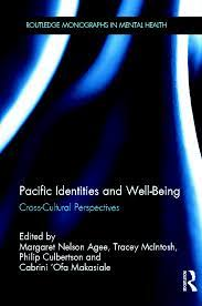 """Book cover of """"Pacific Identities and Well-Being : Cross-Cultural Perspectives"""""""