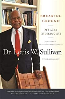 "Book cover of ""Breaking Ground : My Life in Medicine"""