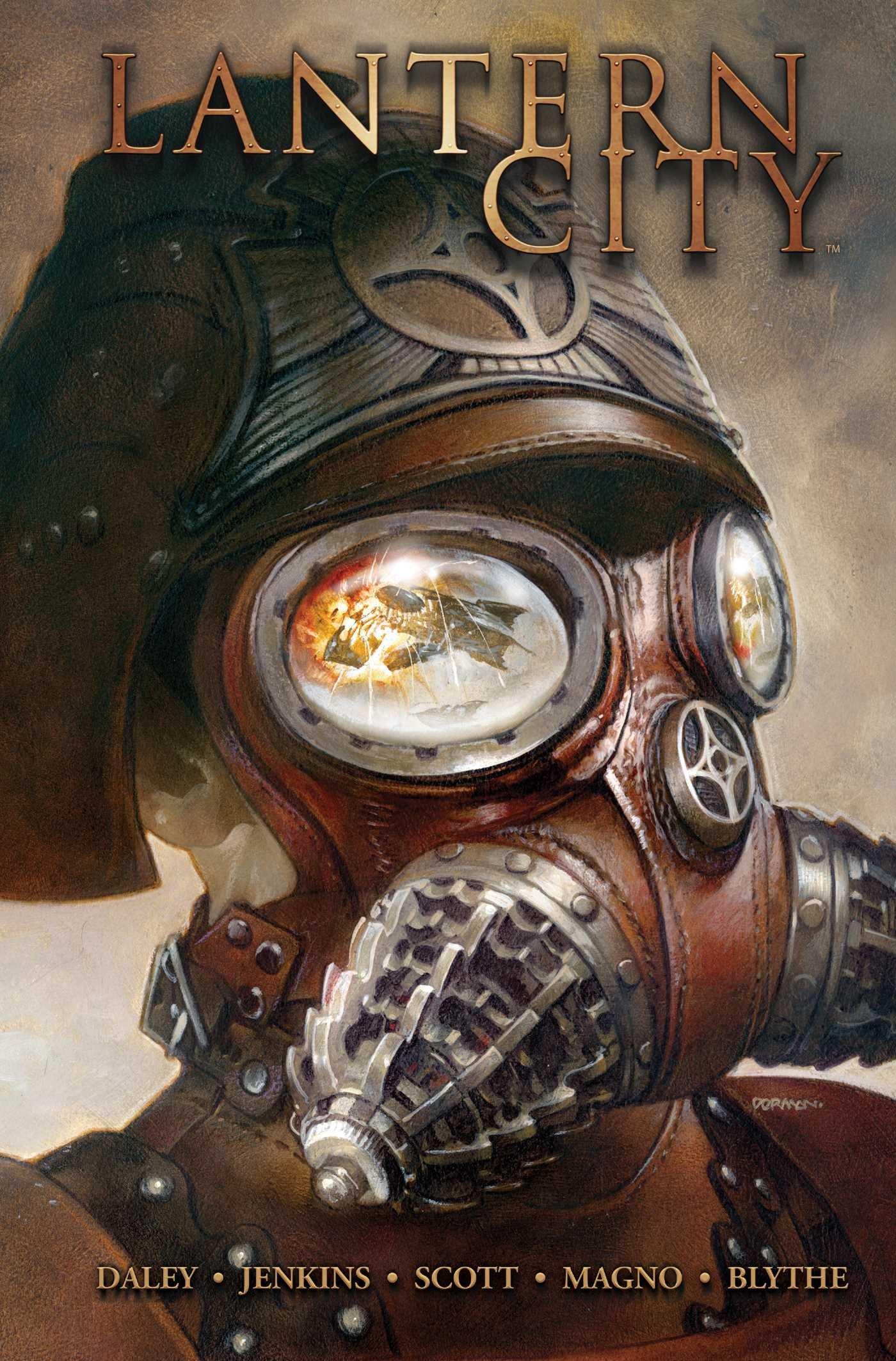 "Book cover of ""Lantern City Vol. 1"""