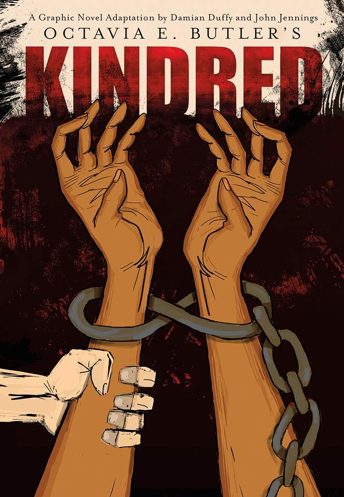 "Book cover of ""Kindred: A Graphic Novel Adaptation"""