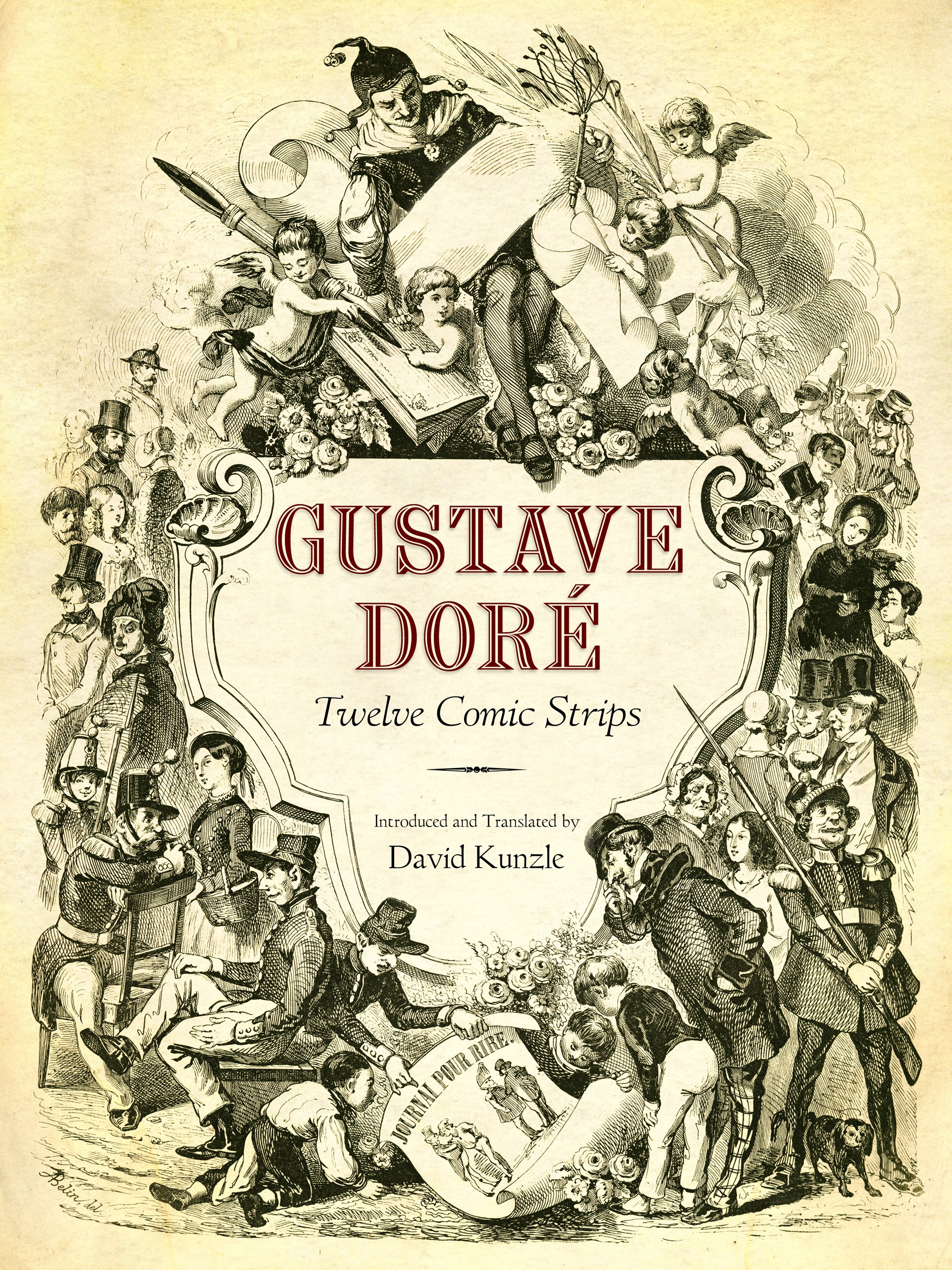 "Book cover of ""Gustave Doré : Twelve Comic Strips"""