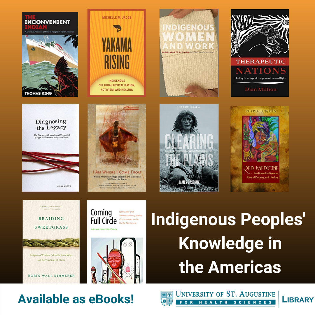 Indigenous Peoples' Knowledge in the Americas. Available as eBooks!
