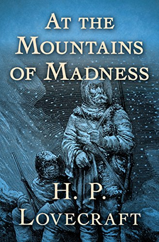 "Book cover of ""At the Mountains of Madness"""