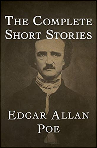 "Book cover of ""The Complete Short Stories by Edgar Allen Poe"""