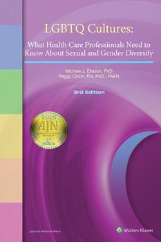 "Book cover of ""LGBTQ Cultures : What Health Care Professionals Need to Know About Sexual and Gender Diversity"""