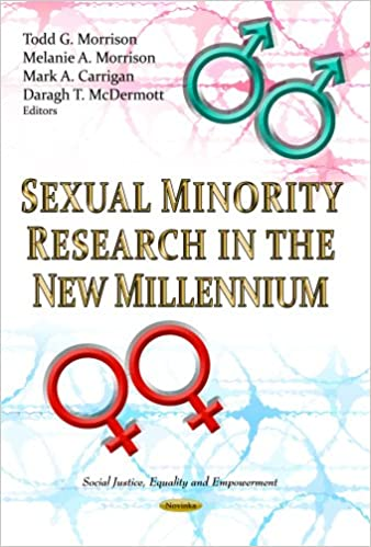 "Book cover of ""Sexual Minority Research in the New Millennium"""