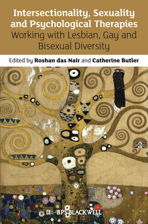 "Book cover of ""Intersectionality, Sexuality and Psychological Therapies : Working with Lesbian, Gay and Bisexual Diversity"""