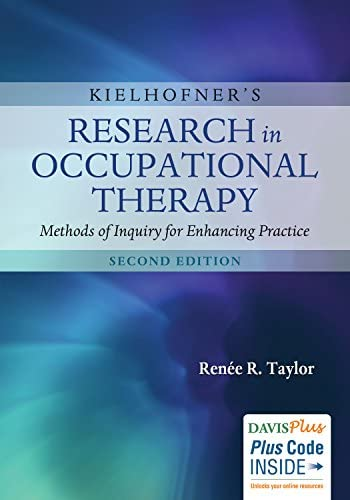 """Book cover of """"Kielhofner's Research in Occupational Therapy: Methods of Inquiry for Enhancing Practice"""""""