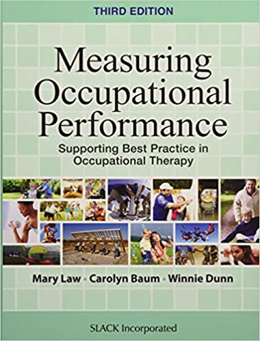 """Book cover of """"Measuring Occupational Performance: Supporting Best Practice in Occupational Therapy"""""""