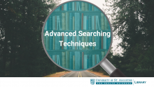 Advanced Searching Techniques