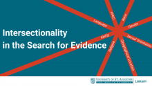 Intersectionality in the Search for Evidence
