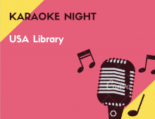 USA Library Karaoke Night