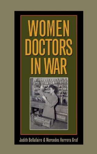 """Book cover of """"Women Doctors in War"""""""